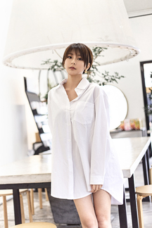 JORDAN OVERSIZED BLOUSE SHIRT (WHITE)