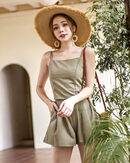 LUCY CAMISOLE TOP (ARMY GREEN)