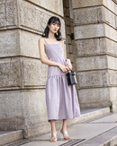 HELENA CAMISOLE MAXI DRESS (GREY)