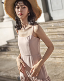 HELENA CAMISOLE MAXI DRESS (NUDE PINK)